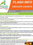 Flash info Circuits courts n°9 2017-07
