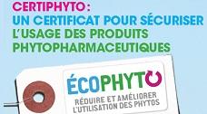 Certificat individuel pour les produits phytopharmaceutiques