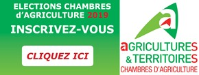 Elections 2019 chambre d'agriculture